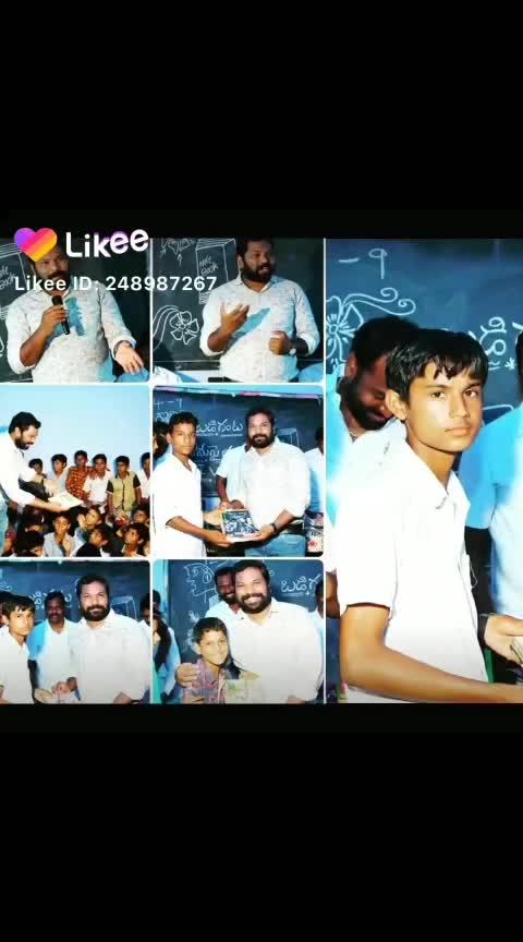 NOTEBOOKS DISTRIBUTION for poor and needy students #roposo #socialworker #sundaymorning