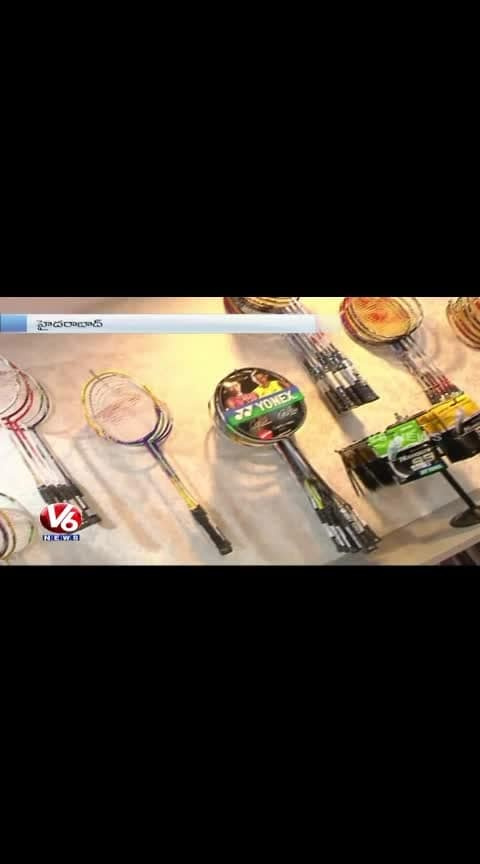 ambati rayudu launches sports shop in hyderbad
