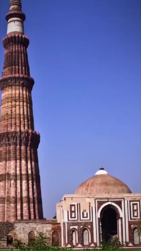 Fact on #Qutub_Minar #fact #GK #qutubminar
