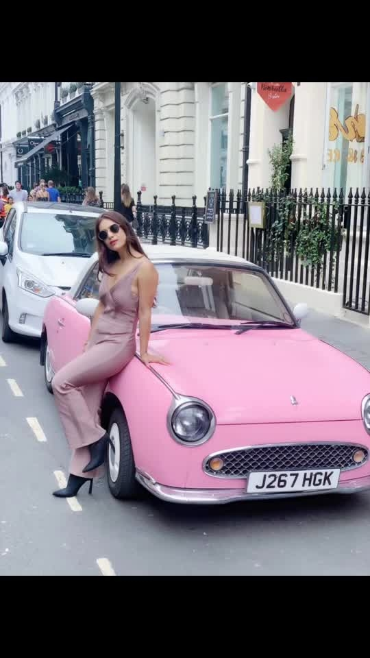 "Pretty in Pink 💕💕💕💕 :  Outfit - @paparazzicloset  Use My code "" NEHA15 ""to get 15% off 🤩 : #pinkcar #london #phonebooth #redphonebooth #londontourism #londontravelwithnehamalik #selfie #selfievideo #paparazzicloset #travelwithme #pollywood #pollywoodmovie #musafir #pollywoodartists #instantpollywood #instantbollywood #nehamalik #model #actor #blogger #instagram #instalike"