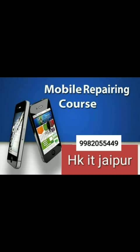 #Limited offer  #New batch start   22/7/2019 #Limited seats  fee only12500 #Mobile, #Computer,#Laptop #led #LCD #CCTV camera #chip Laval #hardware #software course add HK iti 761 shanti path jawaher nagar mama ki Hotal ke pass rajapark jaipur mob. 9982055449 sub YouTube channel Hk it Jaipur