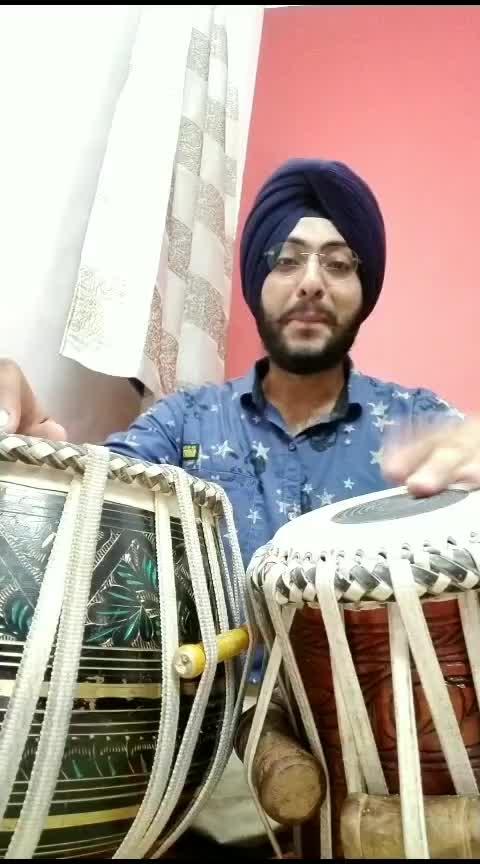 @nehakakkar0398 #sorry #song #trendingsong #roposo #roposotalent #tablagram #tablacover #coin #nehakakkar #soothing #besttabla