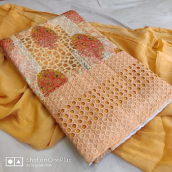 MAHIKAA COLLECTIONS LAUNCHES online selling of WOMEN FABRICS. please click on picture or our online link below or BUY DIRECTLY FROM US USING PAYTM / BANK TRANSFER CONNECT WITH US AT info@mahikaa.in or whatsapp : 7984456745  Kurta cotton digital print chicken embroidery with sequence work Cotton salwar fabric Duptta chiffon PRICE 1150 +$ Limited pieceS BOOK FAST  #saree #sareelove #sarees #fashion #sareeblouse #indianwear #onlineshopping #love #sari #indianfashion #indianwedding #handloom #sareefashion #ethnicwear #indian #sareeindia #traditional #india #lehenga #silksaree #sareesofinstagram #wedding #styles #silk #indiansaree #style #silksarees #kanchipuram #designersaree
