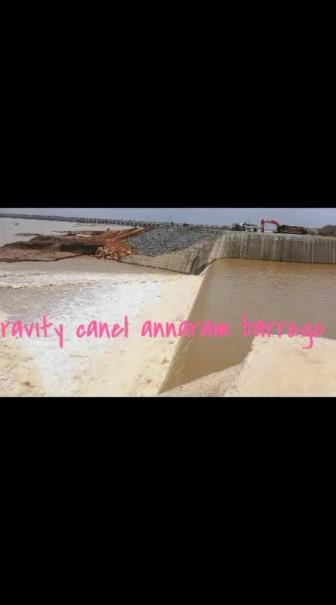 Kaleshwaram to annaram barrige gravity canel water flowing