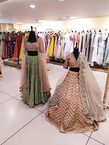 Jayanti Reddy's Festive and Bridal collection at Deval The Multi Designer Store on 24-25 July 2019.  Presenting her beautiful collection for upcoming festive and wedding occasions inspired by vintage charm in soft pastels and festive colors. #devalstore #ahmedabad #designerstore #designercollection #womenswear #festivecollection #festivewear #clothingstore #multidesignerstore #weddingwear #bridalwear