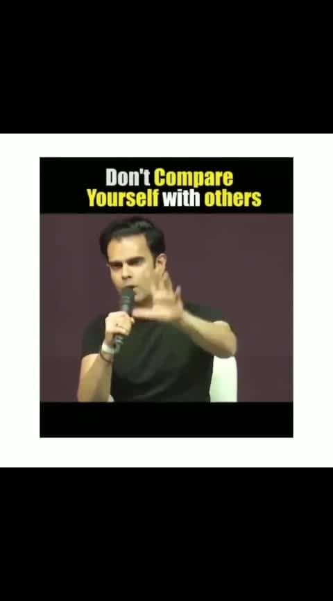 Everyone is unique. Don't compare yourself with others. This is something that we should imbibe ! #motivation #motivational #success #motivationalquotes #inspirational #quotes #love #entrepreneur #inspiration #quoteoftheday #inspire #business #lifestyle #goals #decisionmakingskills #motivationalspeaker #successful