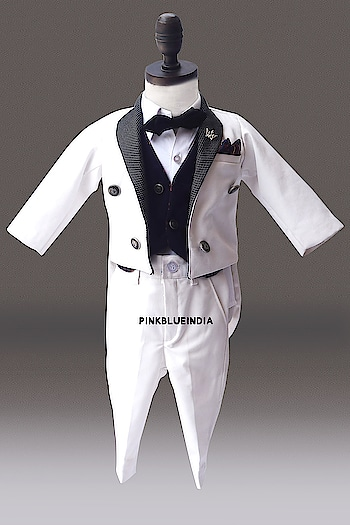 Boys 5pc Formal Tailcoat Royal Suit - Kids Wedding Outfit Contact :+918000011699 Shop Now : https://www.pinkblueindia.com/boys-formal-tailcoat-royal-suit.html  #kidsfashion #kidswear #formalclothes #birthdaydress #weddingsuits #kidsceremoniedress #boysuit #boytuxedo #gentlemanstyle #boysclothing #boyTuxedo #TuxedoSuit #luxurykids #partywear #boypartysuit #mumbai #delhi #jaipur #usa #instalikes #celebritykidswear #PinkBlueIndia