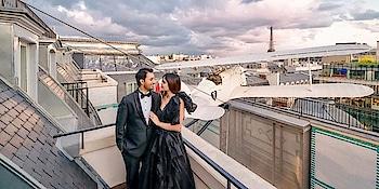 Surprise Proposal In The City Of Love !.. Checkout https://www.weddingplz.com/blog/surprise-proposal-in-the-city-of-love/  . . . #tiffany&co. #weddingproposal #couple #paris #love #like #follow