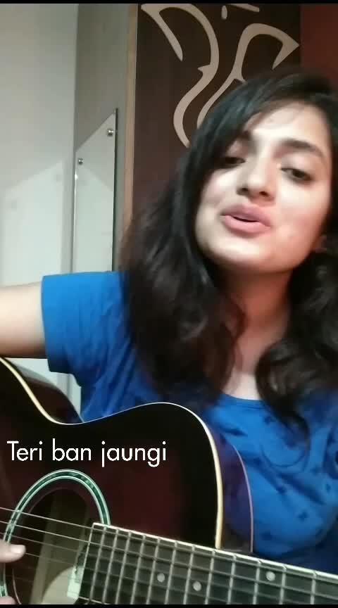 main Teri ban jaungi . as sweet as sugarcane. enjoyed singing . hope Yu all fine it too. 😊. love love😊 #musicbeats #roposo-music #secretsuperstar #music #love #live #meaningful #life