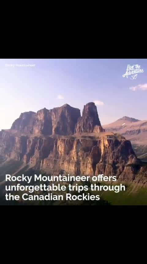 canadian rocky views..train journey..#roposo-awesome #videoeffects