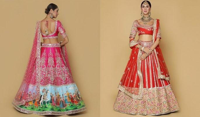 Latest Bridal Couture Collection From the House of Neeta Lulla ! Checkout :https://www.weddingplz.com/blog/latest-bridal-couture-collection-from-the-house-of-neeta-lulla/  . . #indianwedding #wedding #bridallehengas #bridalcouture