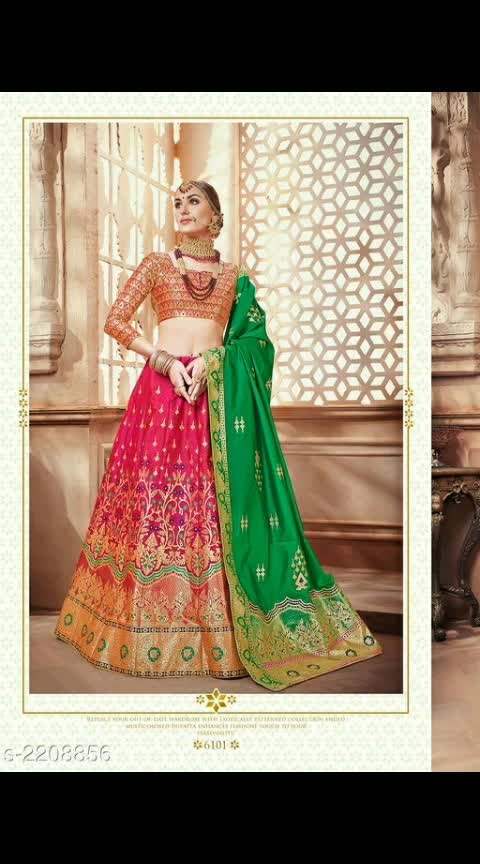 *Piyali Elegant Banarasi Silk Lehengas Vol 1*