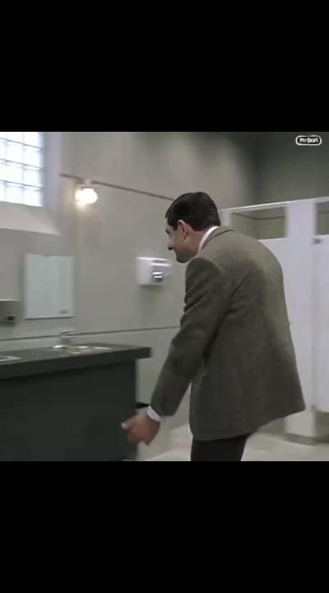 Mr.BEAN toilet humour 😁🙀🙈