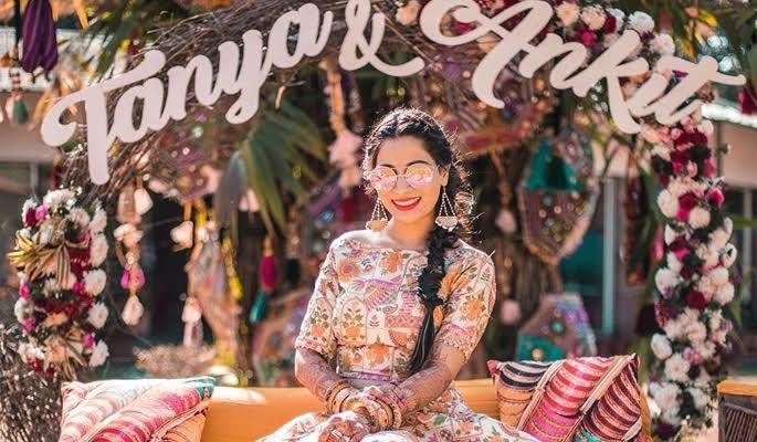 These Brides are Sporting 'kala chashma' With Full Swag! Checkout:https://www.weddingplz.com/blog/these-brides-are-sporting-kala-chashma-with-full-swag/ .  #weddings #indianweddings #shadeson #coolbrides #kartikbhagat #mrinalkhatnani #sunilsraawat #bhumiandsimran #confettifilms #romeshdhanija #studiospart #delhivelvet #throughthebarrel