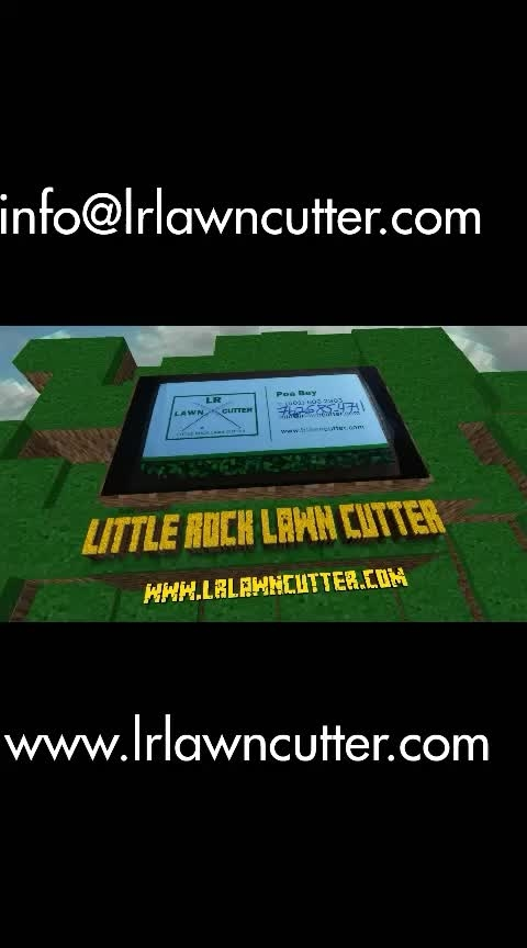 Little Rock Lawn Cutter info@lrlawncutter.com www.lrlawncutter.com #entrepreneur