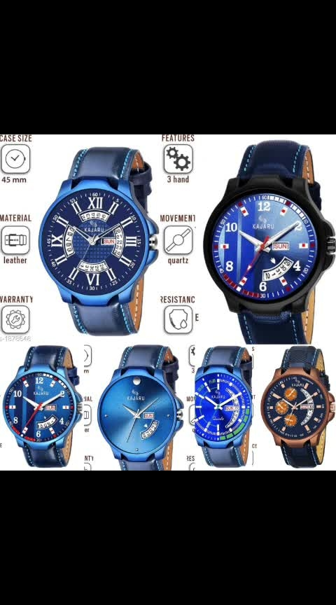 Mens Analog Leather watches @ Wholesale Price : Rs.285/only Free shipping & Cod WhatsApp me -> for more details & Order https://wa.me/918610180408 .