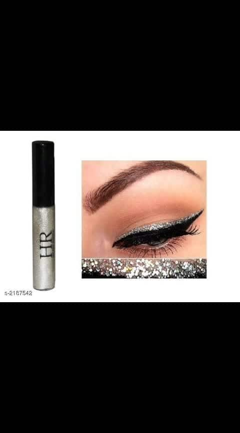 Hilary Rhoda Metallic Glitter EyeLiner Vol1  Brand Name: HR Product Type: Eyeliner Capacity: 8 gm Description: It Has 1 Pack Of Eyeliner Dispatch: 2- 3 Days