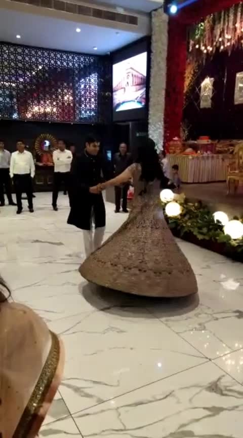 Engaged couple dancing...😘