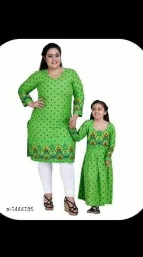 *Elegant Kid's & Mom's Combo Dresses Vol 1*