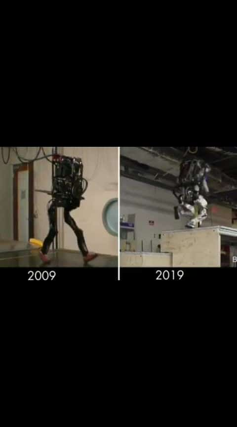 The company was founded in 1992 by Marc Raibert, a former researcher at MIT. Boston Dynamics originally focused on developing human simulation software used to train law enforcement. But Raibert had done extensive research on robotic mobility at MIT and Carnegie Mellon, leading the company to eventually expand to producing robotic machines. 10 Years Difference in the Robotics at Boston Dynamics. The company has a wealth of 93 million US dollars to spend, flying, floating, large, micro, 2-legged, 100-foot can be produced as many robot models, artificial intelligence robots in the next 30 years will reach 10,000 IQ. Boston Dynamics has partnered with DARPA, the U.S. Navy, the Army and the Marines, according to its website. Follow  #science #technology #geek #physics #robot #worldofengineering #research #artificialintelligence #machine #viralvideos talkwidtech10 Years Difference in the Robotics at Boston Dynamics. The company was founded in 1992 by Marc Raibert, a former researcher at MIT. Boston Dynamics originally focused on developing human simulation software used to train law enforcement. But Raibert had done extensive research on robotic mobility at MIT and Carnegie Mellon, leading the company to eventually expand to producing robotic machines. The company has a wealth of 93 million US dollars to spend, flying, floating, large, micro, 2-legged, 100-foot can be produced as many robot models, artificial intelligence robots in the next 30 years will reach 10,000 IQ. Boston Dynamics has partnered with DARPA, the U.S. Navy, the Army and the Marines, according to its website. . Follow @talkwidtech to Learn New Amazing Stuff Everyday . Source :- bostondynamics.com #invention #science #geek #physics #robot #interesting #technology #worldofengineering #talkwidtech #viralvideos #research #machine #engineering #chemistry #artificialintelligence #future #amazing #talkwidtech #engineering #future #amazing #invention #interesting