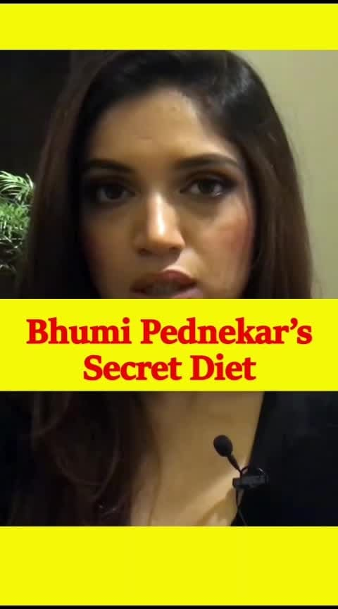 Bhumi Pednekar's Secret Diet #diet #dietplan #celebrity #meals #healthymeal