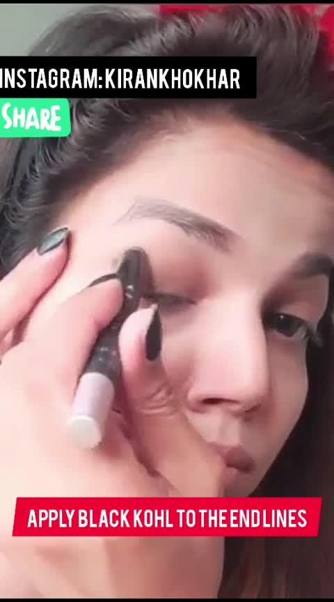 Green Smokey Eyes #kirankhokhar #beauty #ropobeauty  #indianbeautyblogger #eyemakeup #ropo-makeup #eye-makeup