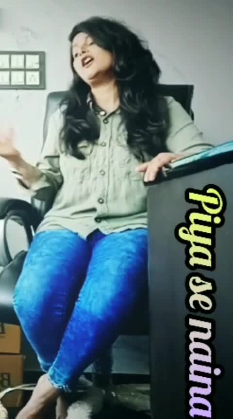 HO.. MAI TO PIYA SE... NAINA.. 😍😍😍😍 #featurethisvideo #sonammahapatra #sufism #likesharecomment #followmeonroposo #roposo-trending #roposo-trendings #roponess #ropo-daily #dailyfeature #ropo-live #enjoyyourday #roposoers #artistlife #roposo-awesome #roposo-star #roposo-music #roposo-effects #ropo-starchennal #keepsupportingme #thankyouroposo #newvideoalert