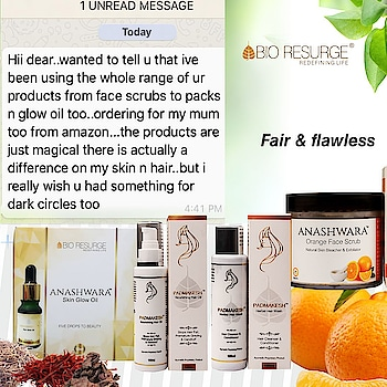 Customer Testimonials like these make our day 😊🙏🏼 Bio Resurge provides Ayurvedic and effective solutions for all Skin, #Hair & Health concerns.   Available At : www.bioresurge.in www.amazon.in www.flipkart.com https://www.1mg.com | Nykaa, Paytm, eBay, Qtrove, Healthmug, LimeRoad, Shopclues.  #feedback #follow #like #review #motivation #love #followme #bioresurge #ayurveda #natural #effectivecare #hairfall #hairloss #nature