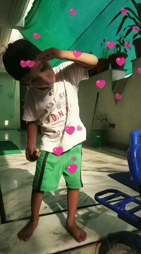 cute dance 😍#nephewlove #roposorisingstar
