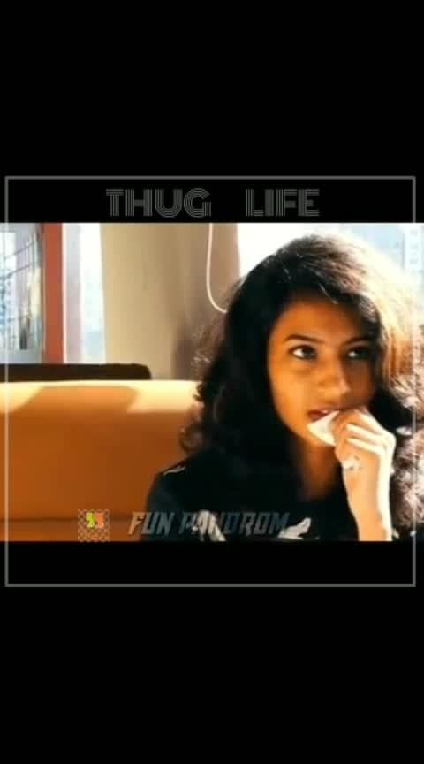 THUG LIFE#thuglife #roposogoodcomedy #haha-tv #roposo-thuglife