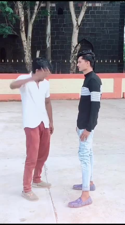 Friends #funny  #dost  #indiancomedy  #roposo-comedy  #haha-tv