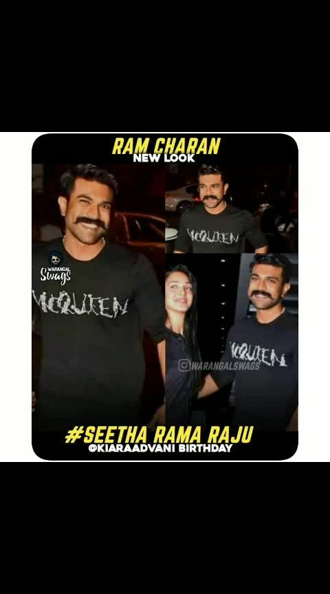 ramcharan newlook #ramcharan