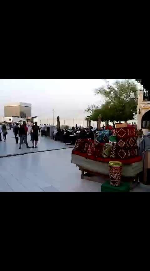 #doha #qatar #souqwaqifartcenter #fridayvibes  walking with cousins 😍