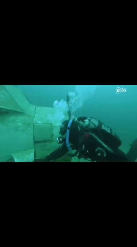 2 deep-sea divers discover an old world warplane on the sea bed. The 2 pilots are still on their seats