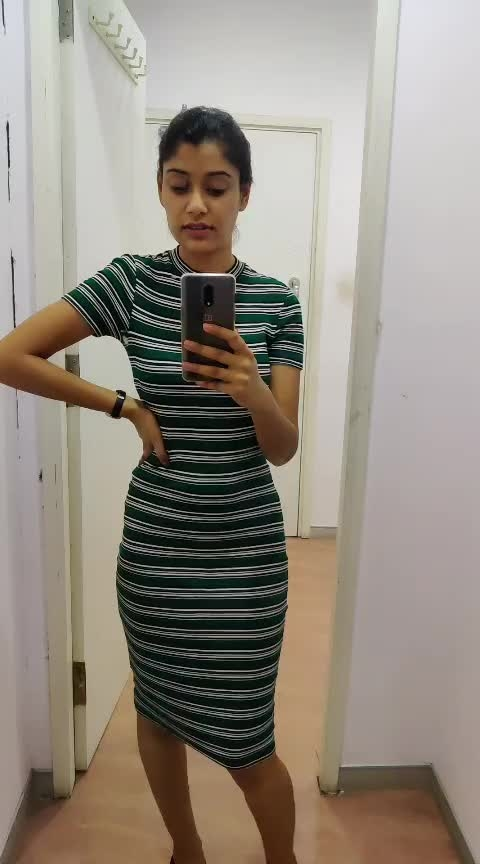 #black-white-striped #olive #bodyhuggingdress #bloggerlifestyle #blogging #be-fashionable