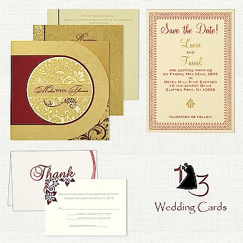 To add a special touch to your wedding, you can complement your main wedding card with add-on cards such as #MenuCards, #ThankYouCards, #PlaceCards, #RSVPCards and many more.  Make your sample order today at https://www.123weddingcards.com/card-detail/IN-8264B  #weddingcard #weddinginvitation #addons #invitationaddons #addoncards #weddingstationery #weddinginvites #123WeddingCards