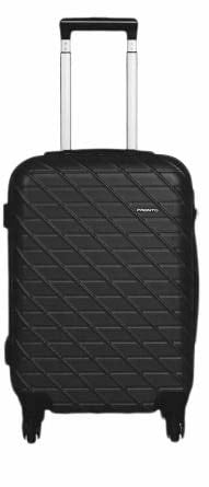 Princeware Black Trolley Luggage Suitcase Trolley/Travel/Tourist Bag  The Princeware hardsided carry-on luggage makes travelling much easier. It is designed specifically to add convenience for travellers who pack light and are always on the move. This carry-on can roll with you without tipping on almost any kind of surface from concrete to tiles to cobblestone.It is a hardsided luggage bag with a solid frame that offers proper protection to the contents inside. It has a lustrous finish and is highly resilient to impacts during bumps, falls or drops.  https://amzn.to/31nVC1I