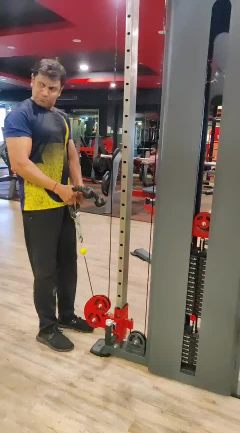 cable rope harmer#bisceps #roposo #alrazfitness