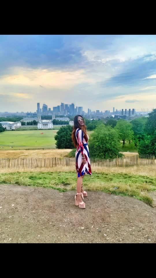 Beauty all around ♥️♥️ : : Outfit @bcbgmaxazria ♥️♥️ : #london  #londondiaries #greenwich #england #greenwichobservatory #greenwichlondon #londontravelwithnehamalik #musafir #musafirmovie #pollywood  #pollywoodmovie #punjabiactress #punjabiartists #sakhiyaangirl #merewalisardarni #instantpollywood #nehamalik #model #actor #blogger #instagram  #instalove #instantpollywood