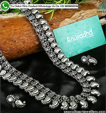 Checkout Our New Beautiful Collection Of oxidised Necklace. To see more designs click on the link: https://bit.ly/2GP3DVK . . . . . . . . . . . . . . . . . #oxidisedjewellery #oxidisedearrings #oxidisednecklace #oxidisedset #haramnecklace #longharamnecklace #haramhaar #junkjewellery #templethreadnecklace #rajasthaninecklaceset #navratrinecklace #oxidisedstonenecklace #germansilvernecklace