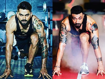 """""""When you are fit, you feel as if you can do anything"""" VIRAT KOHLI  #eathealthy #doexercise #keepfaithingod #keepfaithonyourself #absfaceoftheyear #sameerbelvalkar #BodybyABS #absmembersvoice #absfitness #absolutelyalive #funisabs #committomove #committostayactive #itsnotgymitslife"""