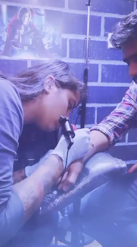 doing tattoo at tattoobaba  #tattoos #tattoist #tattooinjaipur #rupozo-beats #ruposo #ruposopost #ruposocamera #instagram #instadaily #instalike