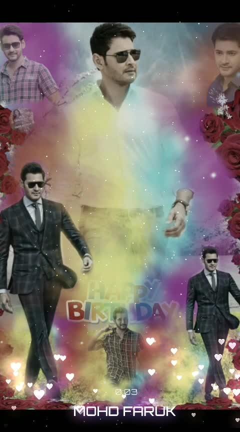 Happy birthday #Mahesh_Babu happy birthday