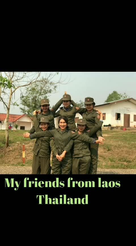 my friends from (thailand)Laos