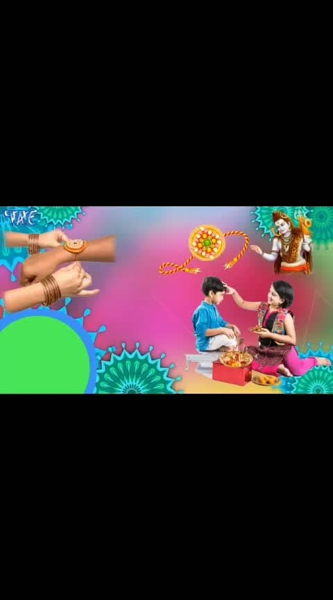 Happy #rakshabandhan #rakhicontest