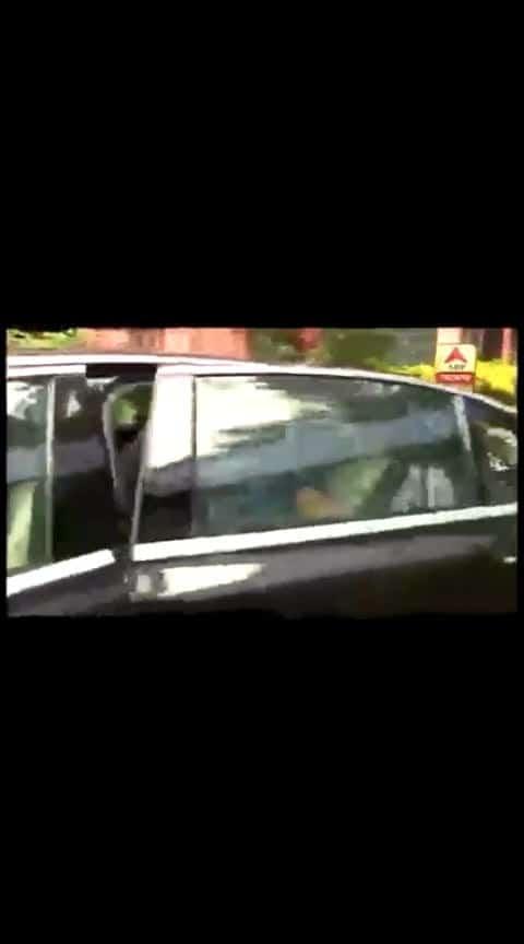 Baisakhi Banerjee reaches Partha Chatterjee's residence