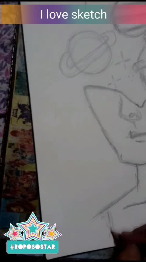 #sketch #sketchbook #roposostar #ropsovideo