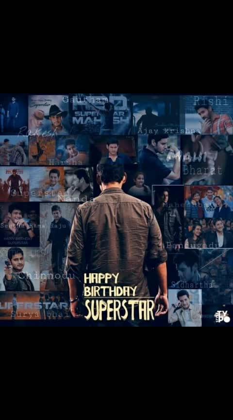 #superstarmahesh