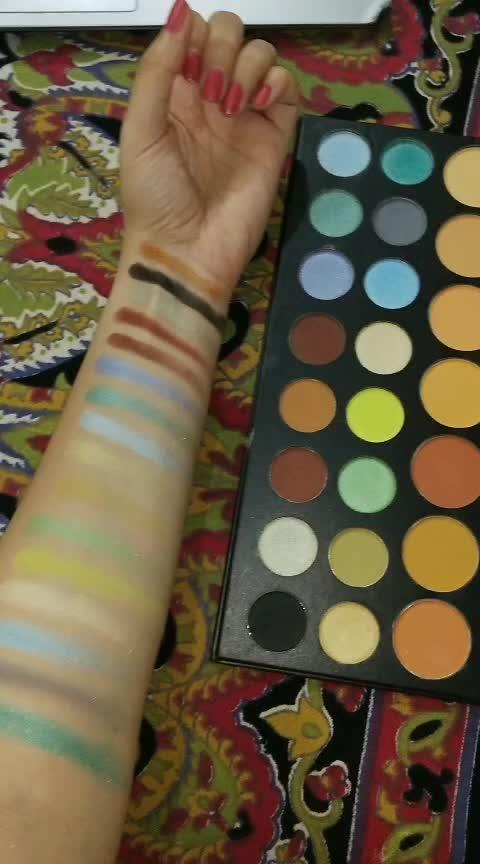 Morphe 39A Eyeshadow palette ❤❤ #lookgoodfeelgoodchannel #makeupartist #roposostarchannel #roposo-beats #makeuptutorial