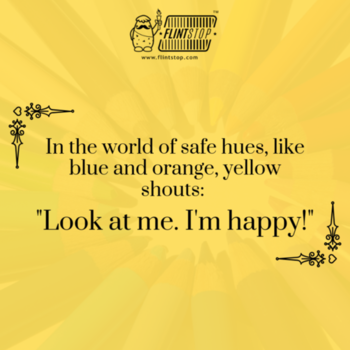 Be different, be a yellow.  #yellow #bright #different #quirky #saturdayevening